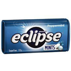 Eclipse Peppermint Pocket Mints 17g