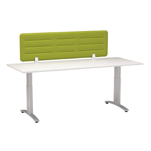 Boyd Visuals Desk Screen Lime Green 1180mm