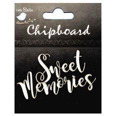 Little Birdie Chipboard Sweet Memories