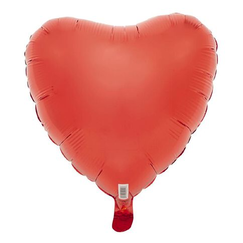 Unique Foil Balloon Heart Red 18 inch