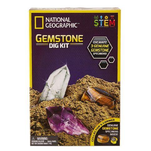 National Geographic Gem Dig Kit
