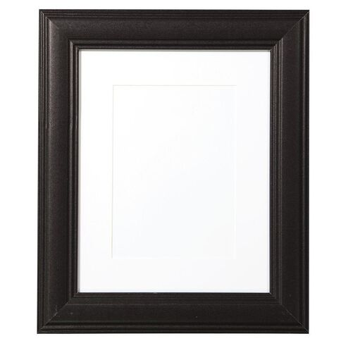 Living & Co Panel Frame 5x7in or 8x10in Black