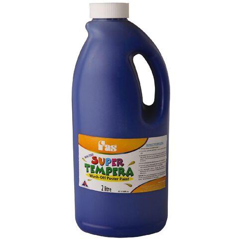 FAS Paint Super Tempera 2L Ultra Blue 2L