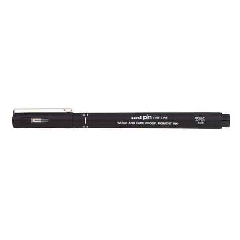 Uni PIN Fineliner 0.1 Black