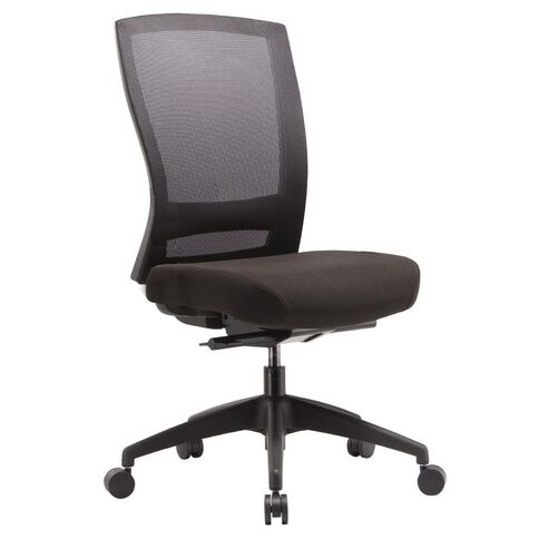Buro Seating Mentor Executive Chair with Nylon Base Black