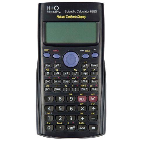 H+O Technology Scientific Calculator 82Es Plus Black