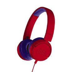 JBL JR300 Wired Headphones Red