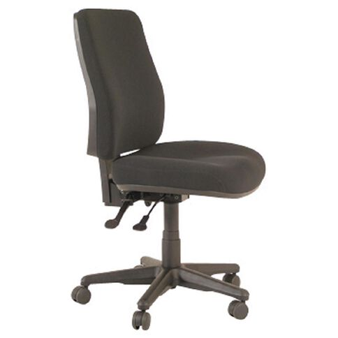 Buro Seating Roma 2 Lever Highback Chair Black