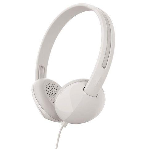 Skullcandy Stim On Ear Headphones White/Grey