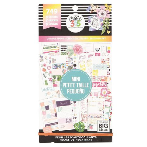 Me & My Big Ideas Sticker Pack Mini Happy