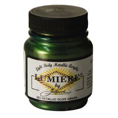 Jacquard Lumiere 66.54ml Metallic Olive Green