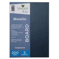 Direct Paper Metallic 200gsm 5 Pack Neptune A4