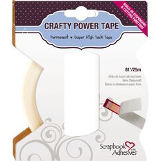 3L Scrapbook Adhesives Double Sided Tape 6mm Clear 25m
