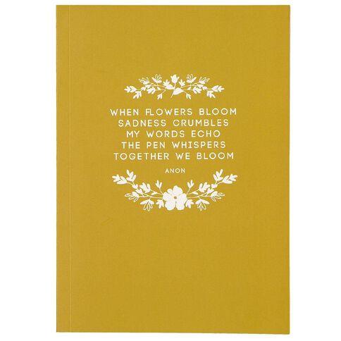 Uniti Winter Bloom Soft Cover Notebooks A5