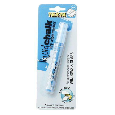 Texta Window Marker Small Blue