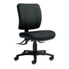 Chair Solutions Rexa Epee 3 Lever Midback Chair Black Black