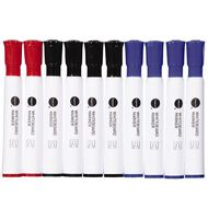 WS Whiteboard Marker Bullet 10 Pack Assorted