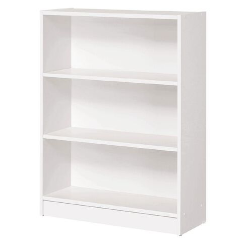 Workspace Soho 3 Tier Bookcase White