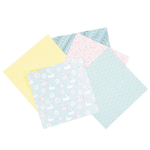 Rosie's Studio Make a Splash Paper Pad 40 Sheet 6in x 6in