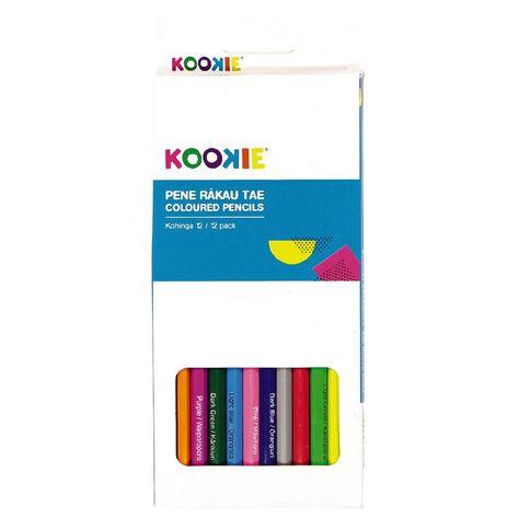 Kookie Te Reo Colour Pencils 12 Pack