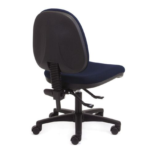 Chair Solutions Aspen Midback Chair Navy Navy