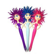 Novelty Pen Funky Ladies Assorted