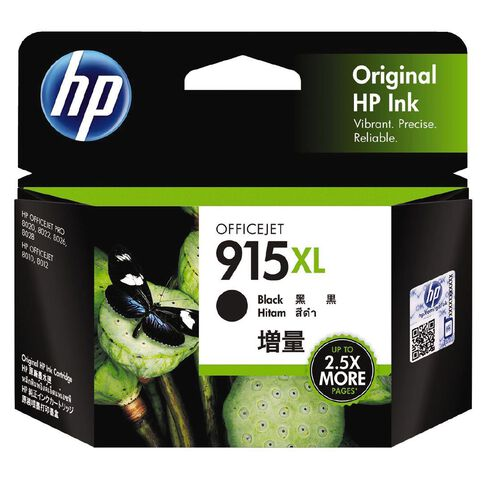 HP Ink 915XL Black (825 Pages)