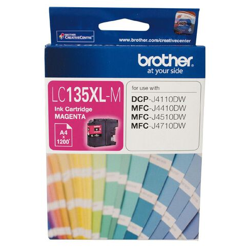 Brother Ink LC135XL Magenta (1200 Pages)
