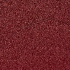 American Crafts Cardstock Glitter Medium 12 x 12 Rouge Red