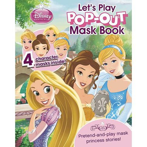 Disney Princess Let's Play Pop-Out Mask Book