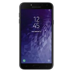 2degrees Samsung Galaxy J4 Black