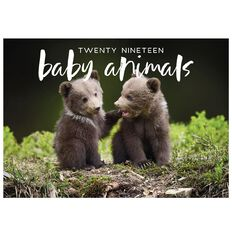 Calendar 2019 Baby Animals A5