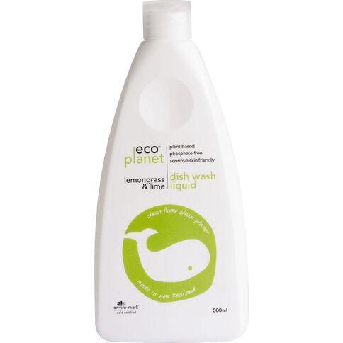 ECO Planet Dishwash Liquid Lemongrass & Lime 500ml
