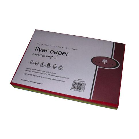 Direct Paper Flyer Paper 80Gsm 200 Pack Brights