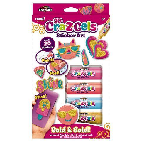 Cra Z Gels Assorted