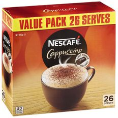 Nescafe Cafe Menu Cappuccino 26 Pack