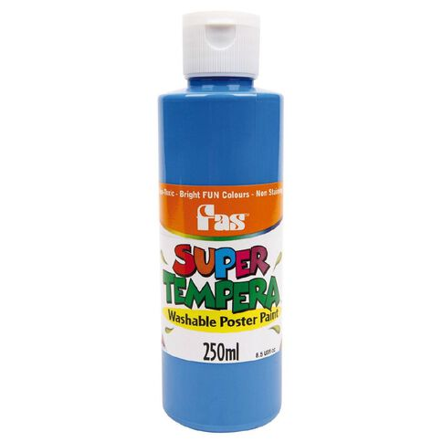 FAS Paint Super Tempera 250ml Cobalt Blue