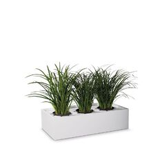 Precision Smartstore Planter Satin White