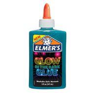 Elmer's Glow in the Dark Liquid Glue 147ml Blue