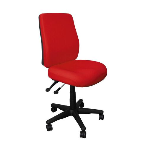 Buro Seating Roma 2 Lever Highback Chair Red Red