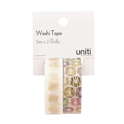 Uniti Washi Tape Donuts 2 Pack