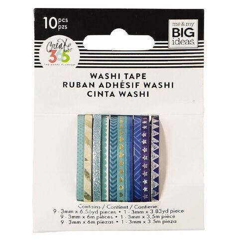 Me & My Big Ideas Washi Tape Mini Blue