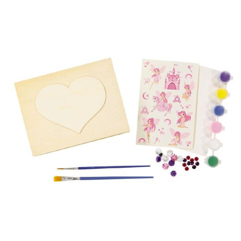 Kookie Paint Your Own Wooden Jewellery Box