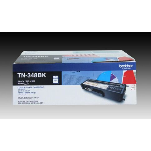 Brother Toner TN348 Black (6000 Pages)