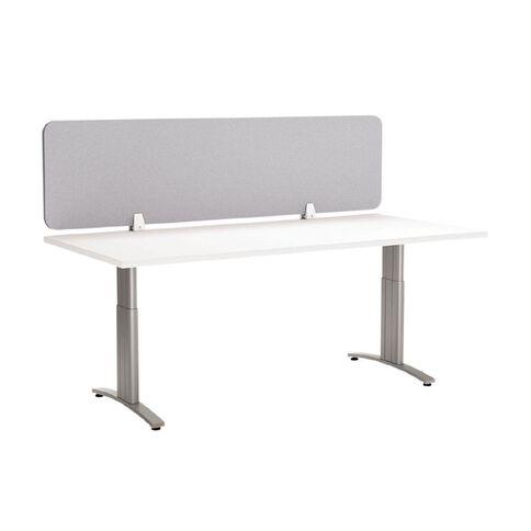 Boyd Visuals Desk Screen Light Grey 1500mm