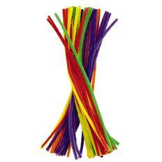 Kookie Chenille Sticks Multi-Coloured 50 Pack