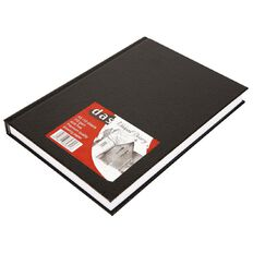 DAS Visual Diary Hardback A5 110 Sheet Black A5