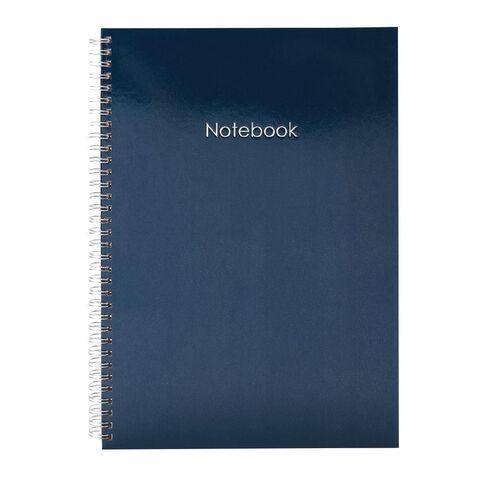 Uniti Colour Pop Notebook Hardcover Blue Dark A4