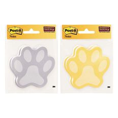 Post-It Paw Notes 2050-Pawprt-Mx 2 Pads/Pack