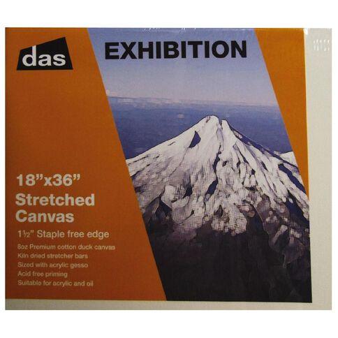 DAS 1.5 Exhibition Canvas 18 x 36in White